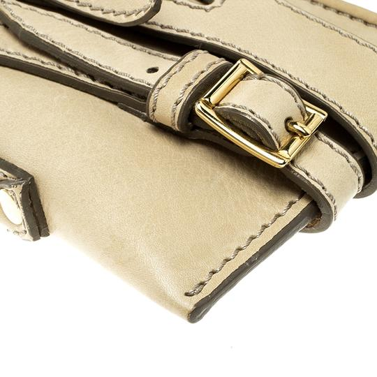 Burberry Leather Fabric Shoulder Bag Image 5