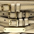 Burberry Leather Fabric Shoulder Bag Image 8
