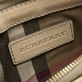 Burberry Leather Fabric Shoulder Bag Image 9
