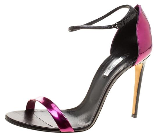 Preload https://img-static.tradesy.com/item/26427019/casadei-metallic-magenta-and-black-leather-ankle-strap-sandals-size-eu-41-approx-us-11-regular-m-b-0-1-540-540.jpg