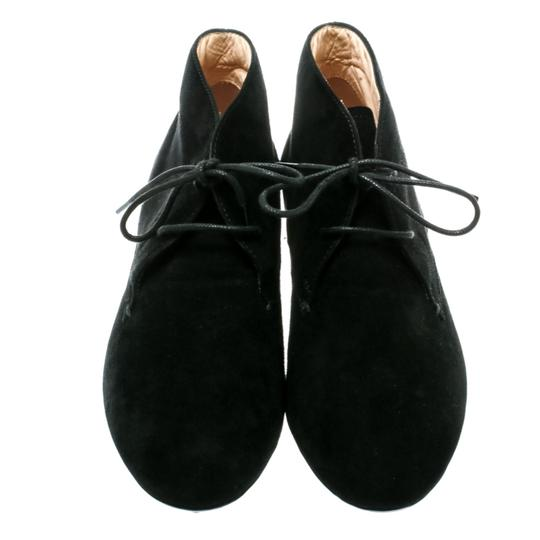 Tod's Suede Desert Leather Rubber Black Boots Image 1