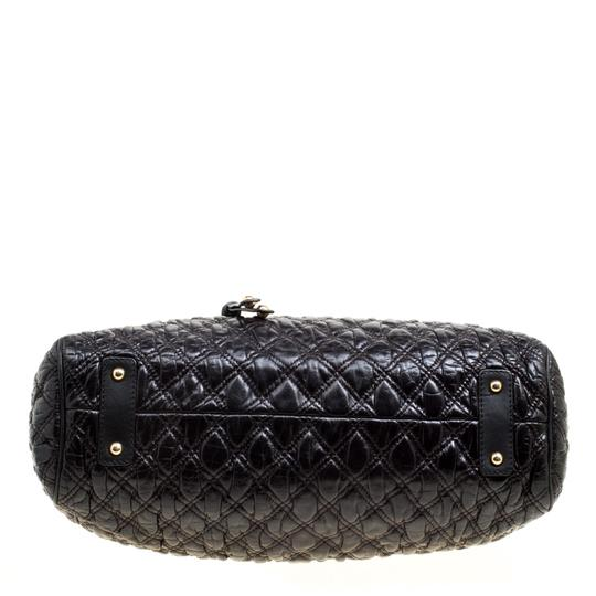 Marc Jacobs Leather Fabric Black Clutch Image 3
