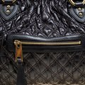 Marc Jacobs Leather Fabric Black Clutch Image 8