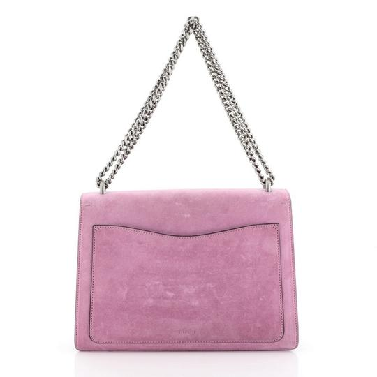 Gucci Dionysus Leather Wristlet in purple Image 2