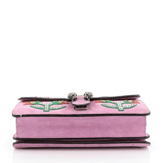 Gucci Dionysus Leather Wristlet in purple Image 3