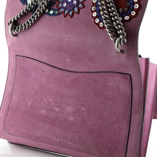 Gucci Dionysus Leather Wristlet in purple Image 6