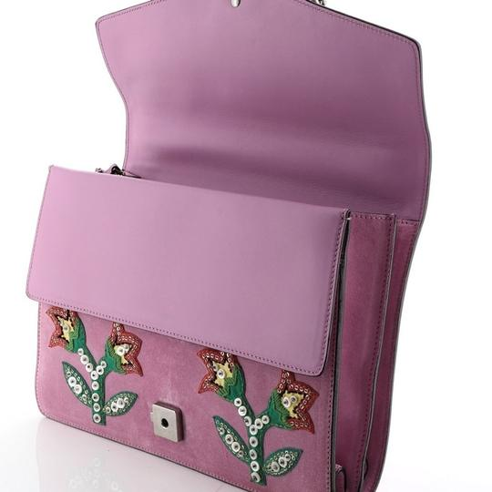 Gucci Dionysus Leather Wristlet in purple Image 7