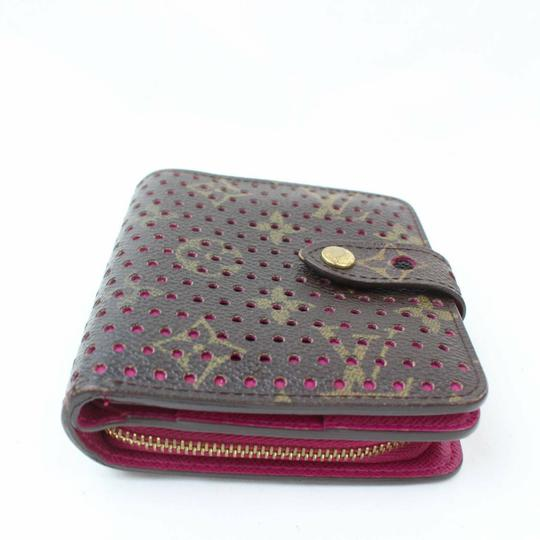 Louis Vuitton Authentic Louis Vuitton Compact Zip Browns Wallet Image 3