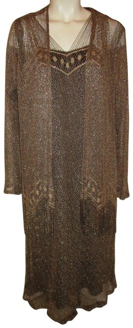 Preload https://img-static.tradesy.com/item/26427110/onyx-nite-gold-and-black-vintage-by-wendye-chaitin-with-sheer-fringed-jacket-mid-length-cocktail-dre-0-1-650-650.jpg