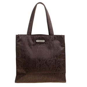 Etro Fabric Paisley Tote in Brown