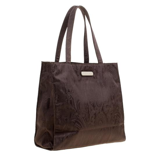 Etro Fabric Paisley Tote in Brown Image 4