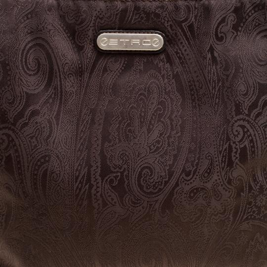 Etro Fabric Paisley Tote in Brown Image 8