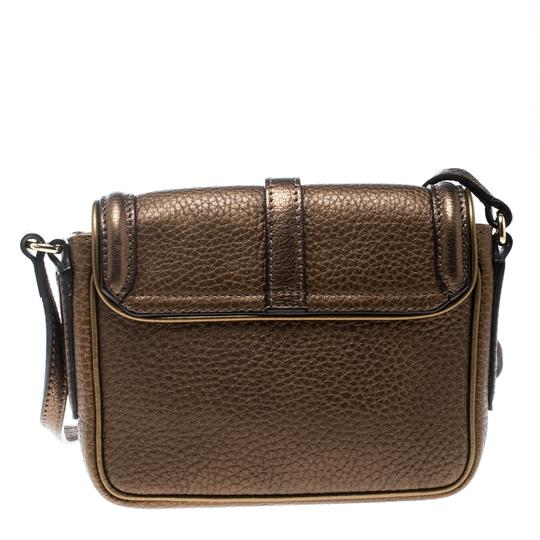Burberry Leather Suede Shoulder Bag Image 1
