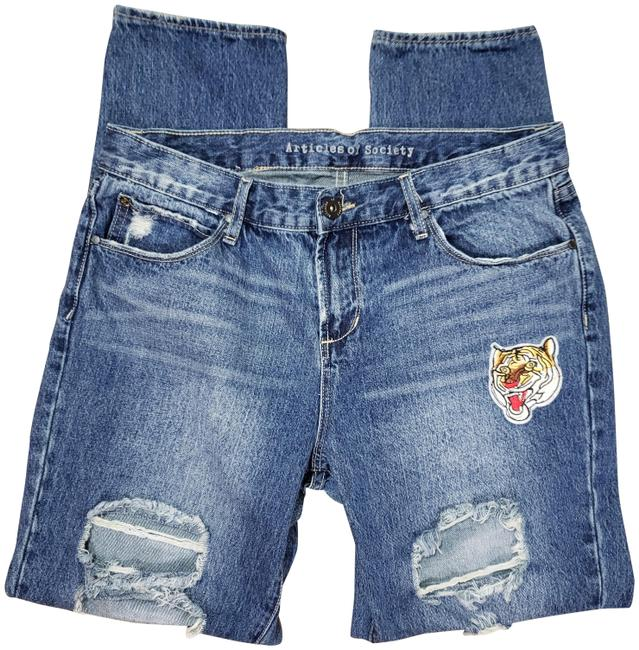 Preload https://img-static.tradesy.com/item/26427145/articles-of-society-blue-distressed-destroyed-patches-boyfriend-cut-jeans-size-28-4-s-0-1-650-650.jpg