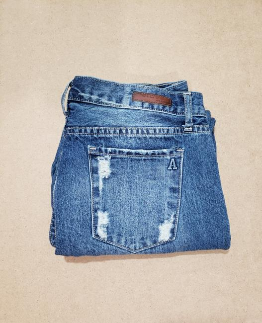 Articles of Society Patch Patchwork Cropped Destroyed Boyfriend Cut Jeans-Distressed Image 11