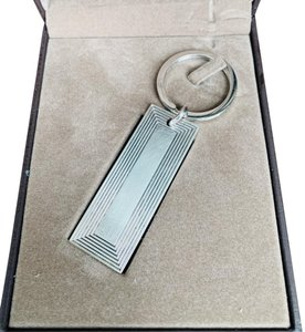 Alfred Dunhill Sterling Silver Keychain