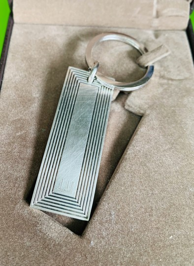 Alfred Dunhill Sterling Silver Keychain Image 1