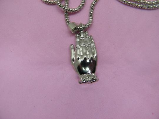 Other Two tone Buddha Head Necklace Image 5