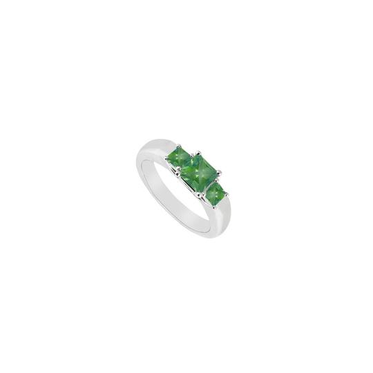 Preload https://img-static.tradesy.com/item/26427213/green-three-stone-emerald-14k-white-gold-033-ct-tgw-ring-0-0-540-540.jpg