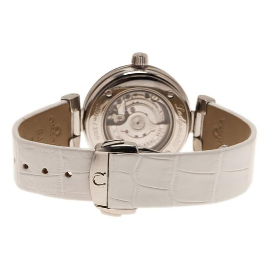 Omega Mother of Pearl Stainless Steel Ladymatic Women's Wristwatch 34MM Image 3