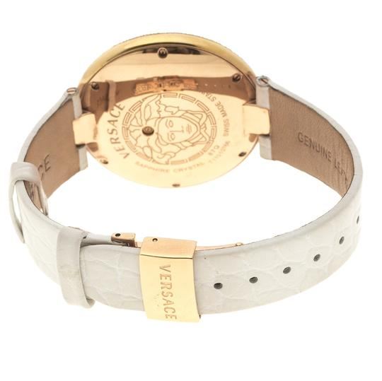 Versace Cream Rose Gold Plated Steel Perpetuelle 87Q Women's Wristwatch 40 mm Image 4