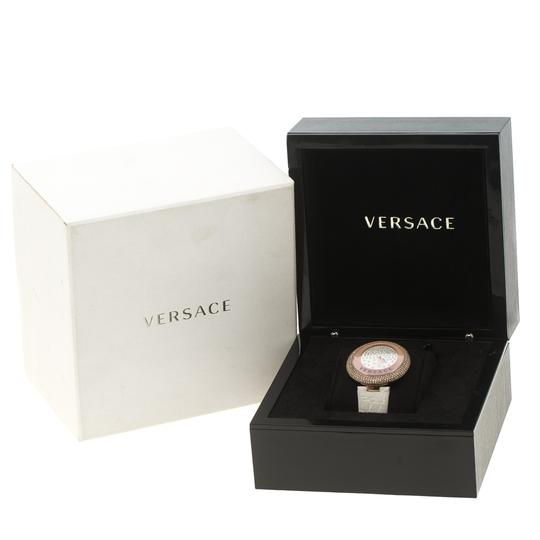 Versace Cream Rose Gold Plated Steel Perpetuelle 87Q Women's Wristwatch 40 mm Image 5