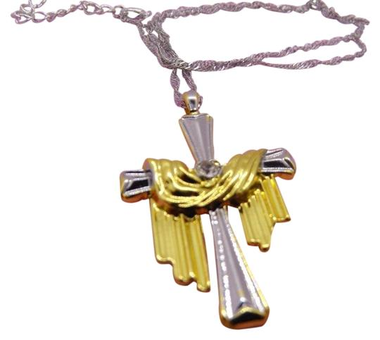 Preload https://img-static.tradesy.com/item/26427229/cross-with-cloth-pendantnecklace-necklace-0-1-540-540.jpg