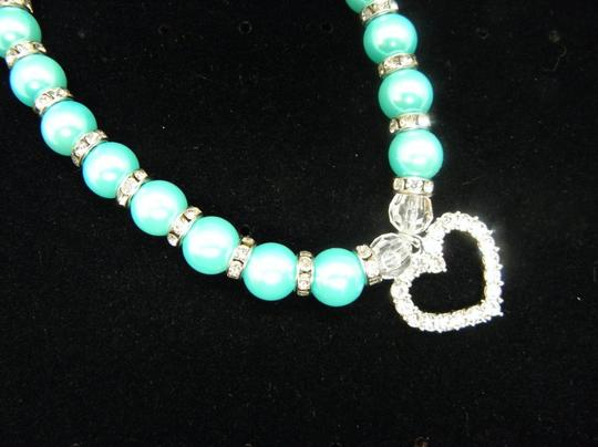 Other Lake blue Puppy Pet Dog /Cat Collar Image 2