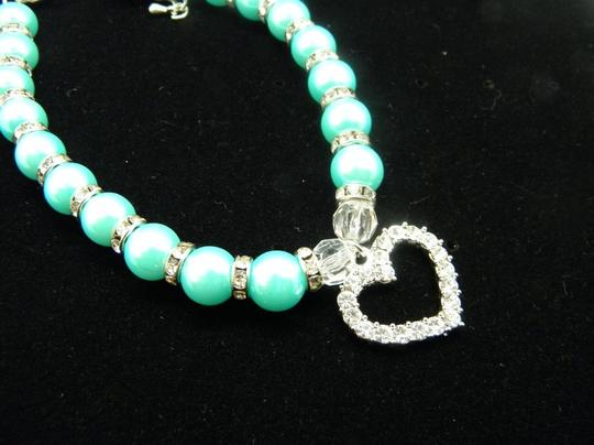 Other Lake blue Puppy Pet Dog /Cat Collar Image 5