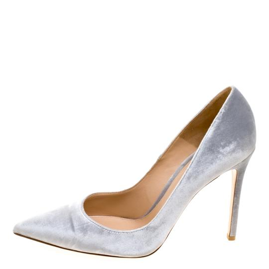 Gianvito Rossi Pointed Toe Grey Pumps Image 1