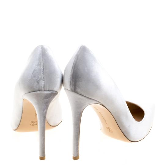 Gianvito Rossi Pointed Toe Grey Pumps Image 3