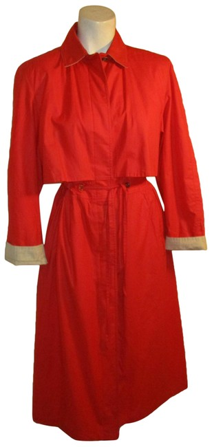 Carol Cohen Trench Vintage Oneam003 11/26/19 Raincoat Image 0