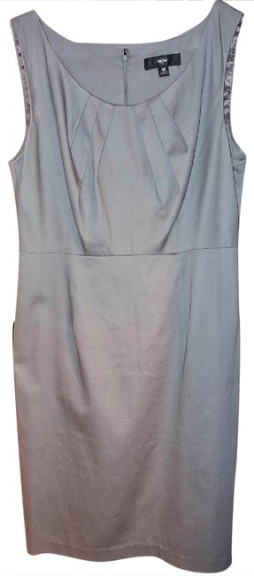 Preload https://img-static.tradesy.com/item/26427498/mossimo-supply-co-gray-mid-length-night-out-dress-size-10-m-0-1-650-650.jpg