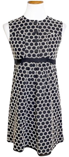 Preload https://img-static.tradesy.com/item/26427506/anthropologie-black-white-embroidered-polka-dot-apron-mid-length-workoffice-dress-size-2-xs-0-1-650-650.jpg