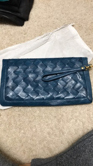 Urban Expressions Blue Clutch Image 1