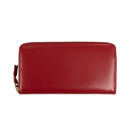 Preload https://img-static.tradesy.com/item/26427550/comme-des-garcons-red-leather-zip-around-wallet-0-0-540-540.jpg