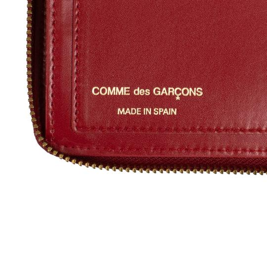 COMME des GARÇONS Leather Zip Around Wallet Image 6