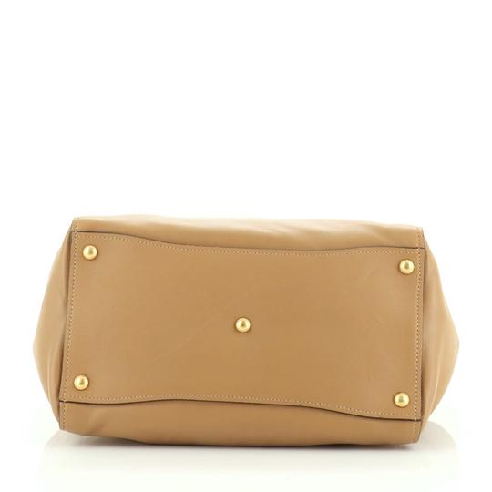 Prada Leather Tote in neutral Image 3