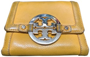 Tory Burch Wristlet in golden yellow