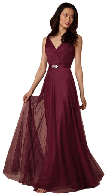 Item - Cherry Zaria Tulle Convertible In Long Formal Dress Size 16 (XL, Plus 0x)