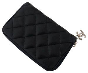 Chanel Chanel Lambskin Leather Card Coin Purse Wallet Pouch