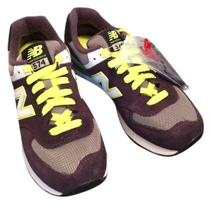 New Balance Sneaker Fashion Purple and neon Athletic