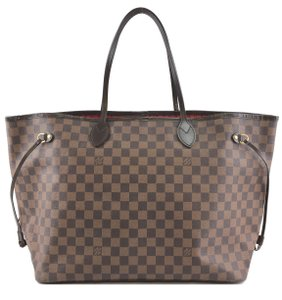 Louis Vuitton Damier Neverfull Tote Gm Shoulder Bag
