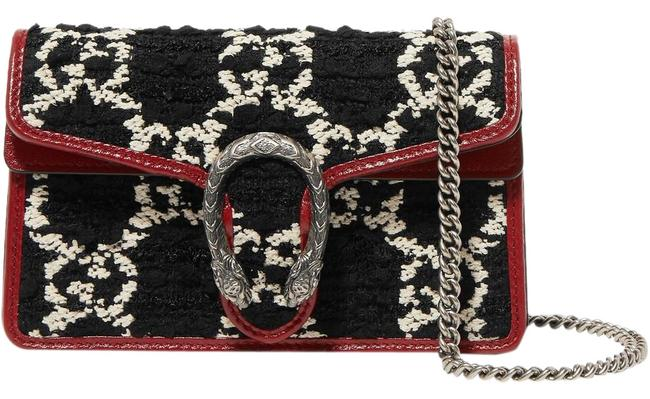 Gucci Shoulder Dionysus Super Mini Textured-leather Cross Body Bag Gucci Shoulder Dionysus Super Mini Textured-leather Cross Body Bag Image 1
