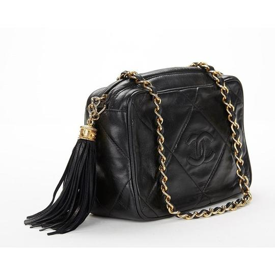Chanel Vintage Quilted Tassel Cross Body Bag Image 1