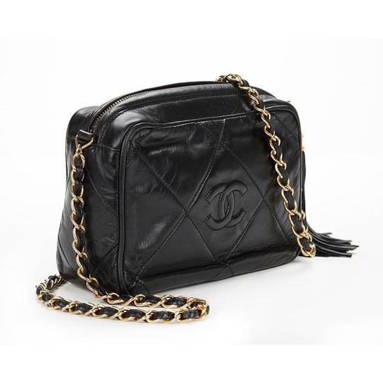 Chanel Vintage Quilted Tassel Cross Body Bag Image 2