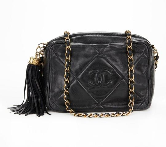 Chanel Vintage Quilted Tassel Cross Body Bag Image 3