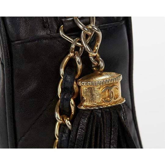 Chanel Vintage Quilted Tassel Cross Body Bag Image 7