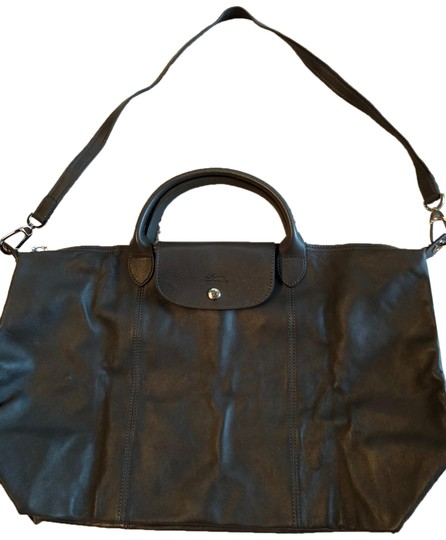Preload https://img-static.tradesy.com/item/26429405/longchamp-le-pliage-cuir-charcoal-gray-leather-tote-0-1-540-540.jpg