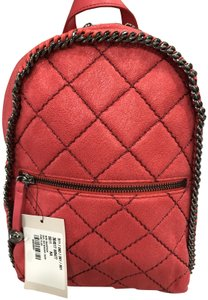 Stella McCartney Shaggy Deer Mini Tote Backpack